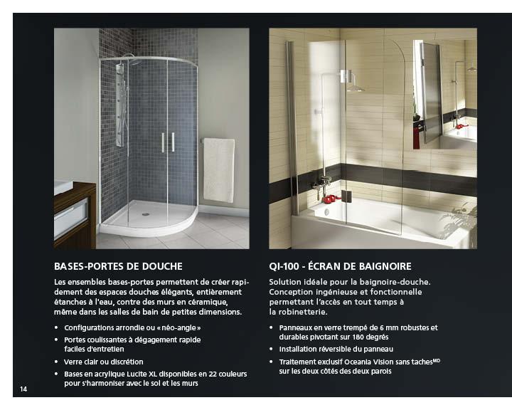 interesting fiche produit with panneau acrylique douche. Black Bedroom Furniture Sets. Home Design Ideas