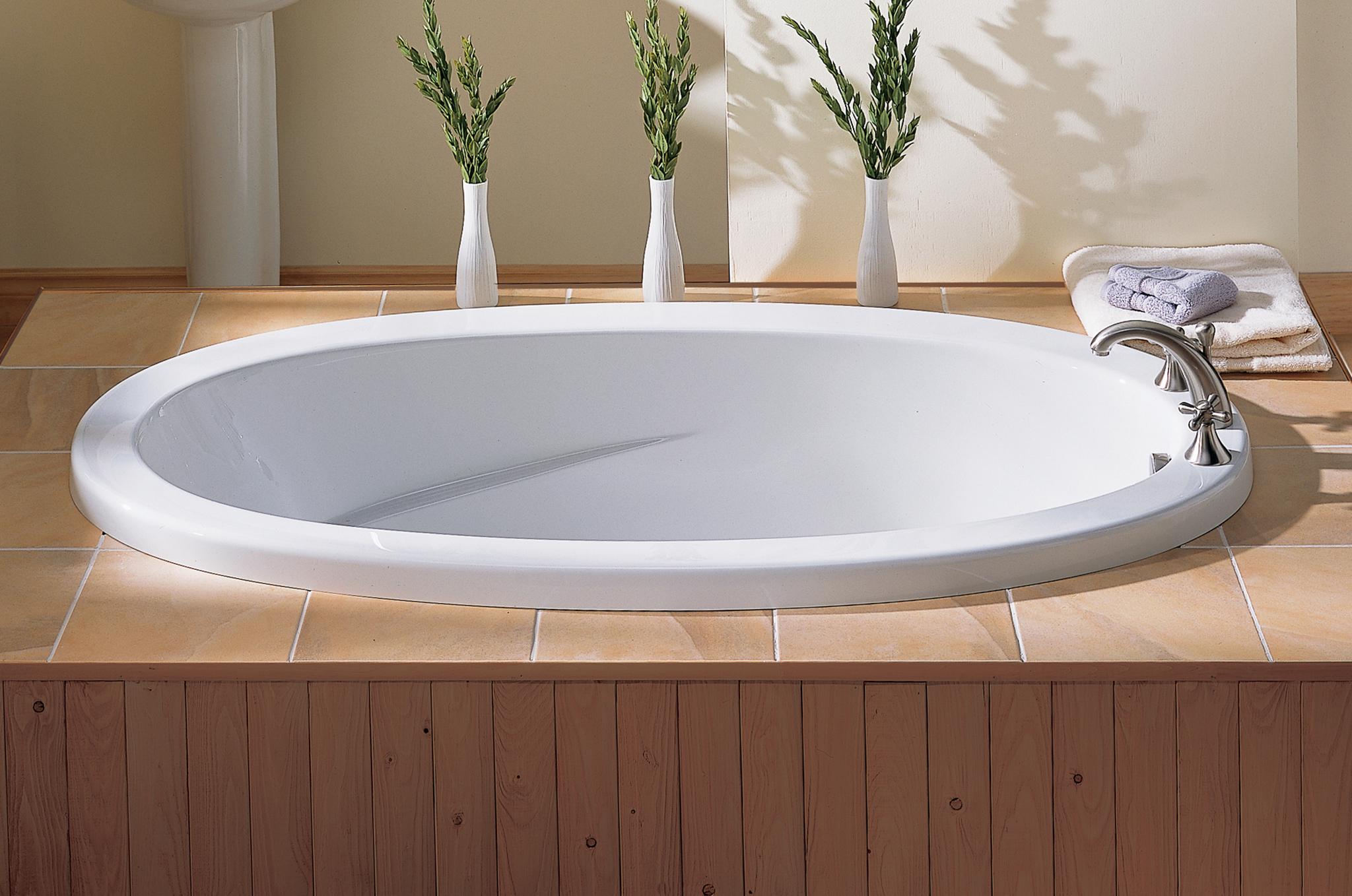 60 X 36 Oval Drop In Bathtub - Bathtub Ideas